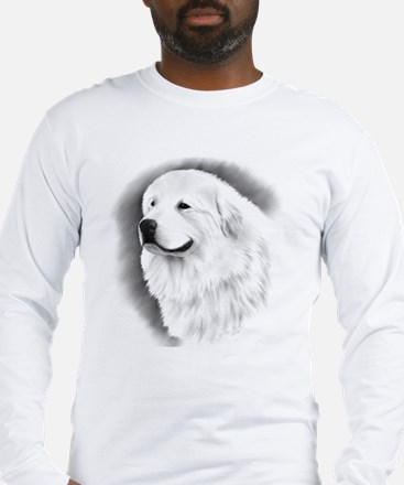 Great Pyrenees Bairney CC Long Sleeve T-Shirt