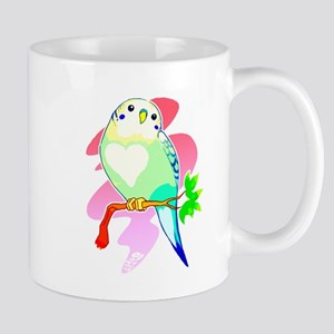 Rainbow Parakeet Mugs