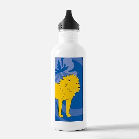 Laura lion Water Bottle