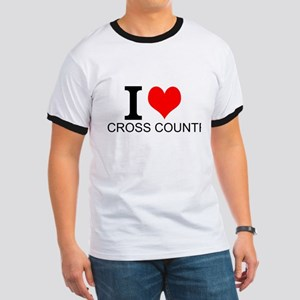 I Love Cross Country T-Shirt