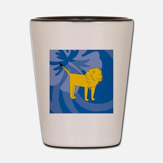 Unique Laura lion Shot Glass