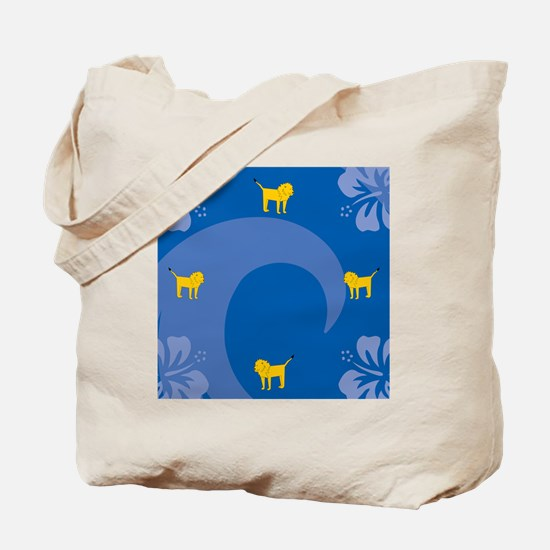 Funny Lion pictures Tote Bag