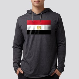 Egyptian Flag Long Sleeve T-Shirt
