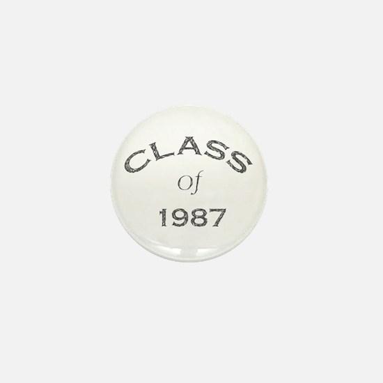 """""""Class of 1987"""" Mini Button"""