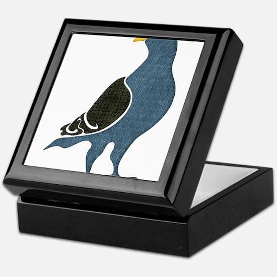 Cute Pigeon Keepsake Box