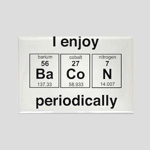 Enjoy Bacon periodically Magnets