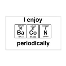 Enjoy Bacon periodically Wall Decal