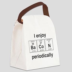 Enjoy Bacon periodically Canvas Lunch Bag