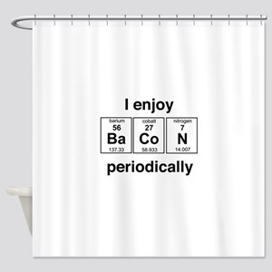 Enjoy Bacon periodically Shower Curtain