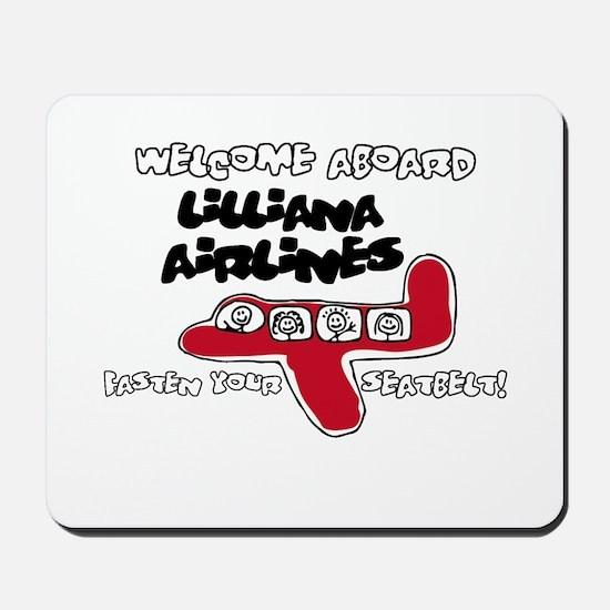Lilliana Airlines Mousepad