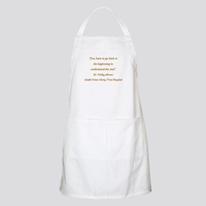 YOU HAVE TO... Apron