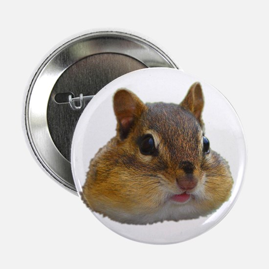 "Unique Chipmunks 2.25"" Button"