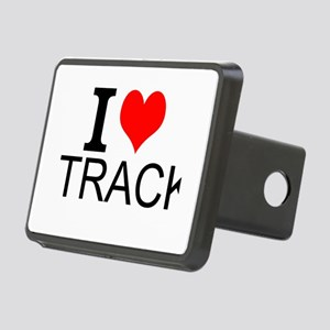 I Love Track Hitch Cover