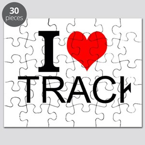 I Love Track Puzzle