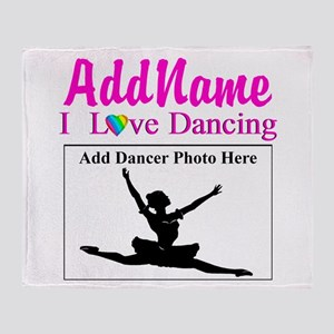DANCING PHOTO Throw Blanket