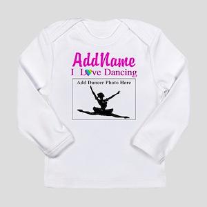 DANCING PHOTO Long Sleeve Infant T-Shirt