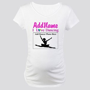 DANCING PHOTO Maternity T-Shirt