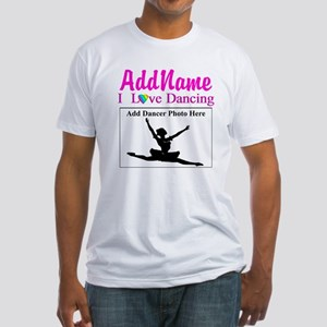 DANCING PHOTO Fitted T-Shirt