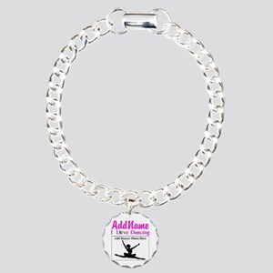 DANCING PHOTO Charm Bracelet, One Charm