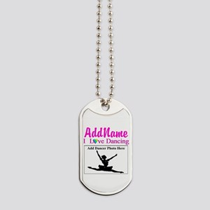 DANCING PHOTO Dog Tags