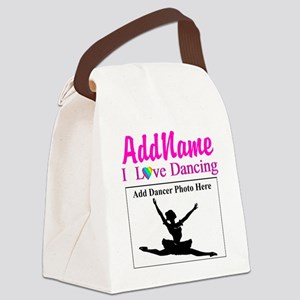 DANCING PHOTO Canvas Lunch Bag