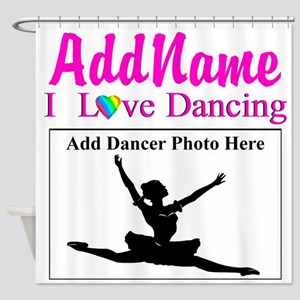 DANCING PHOTO Shower Curtain