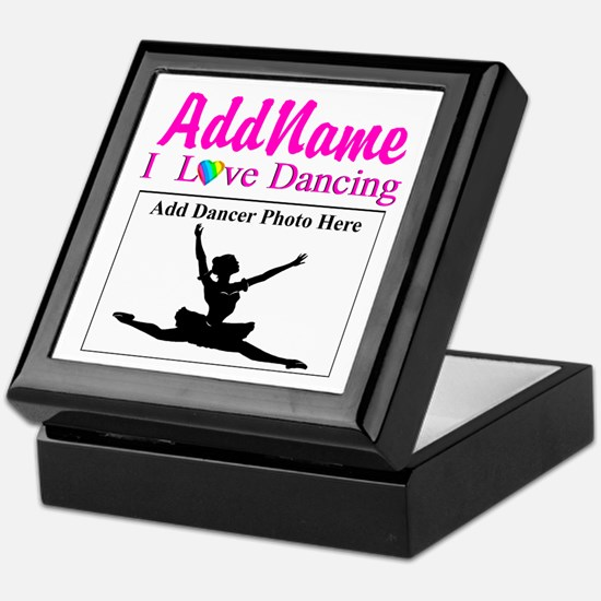 DANCING PHOTO Keepsake Box