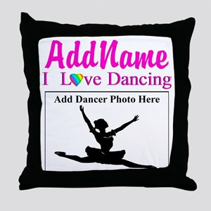 DANCING PHOTO Throw Pillow
