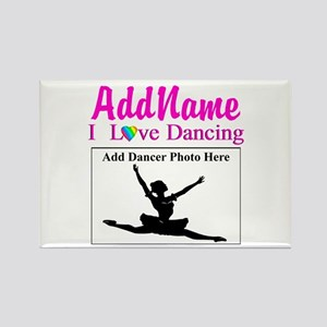 DANCING PHOTO Rectangle Magnet