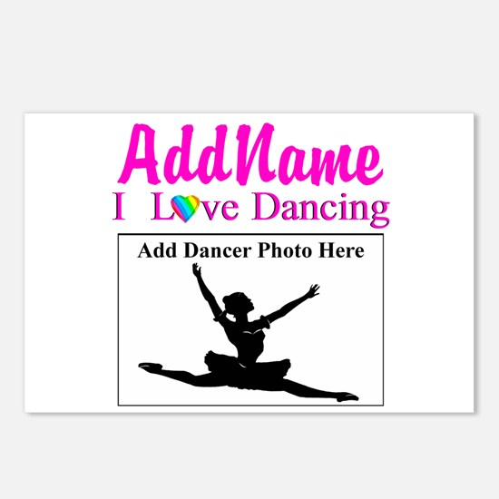 DANCING PHOTO Postcards (Package of 8)