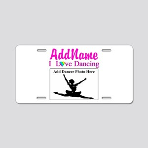 DANCING PHOTO Aluminum License Plate