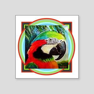 Macaw Parrot Sticker