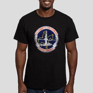 USS ROBERT E. LEE Men's Fitted T-Shirt (dark)