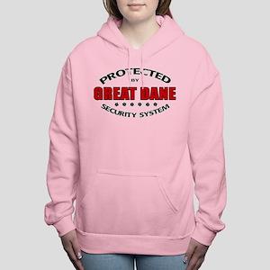 Great Dane Security Women's Hooded Sweatshirt