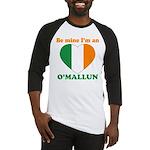 O'Mallun, Valentine's Day Baseball Jersey