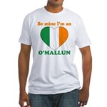O'Mallun, Valentine's Day Fitted T-Shirt