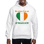 O'Mallun, Valentine's Day Hooded Sweatshirt