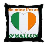 O'Mallun, Valentine's Day Throw Pillow