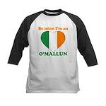 O'Mallun, Valentine's Day Kids Baseball Jersey