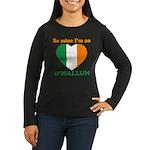 O'Mallun, Valentine's Day Women's Long Sleeve Dark