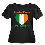 O'Mallun, Valentine's Day Women's Plus Size Scoop