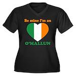 O'Mallun, Valentine's Day Women's Plus Size V-Neck