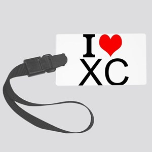 I Love Cross Country Luggage Tag