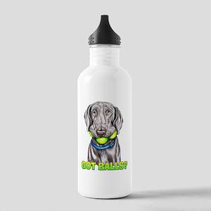 Weimaraner Got Balls? Stainless Water Bottle 1.0L