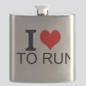 I Love To Run Flask