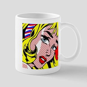 Popart Girl Mugs