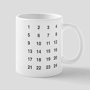 Prime numbers t-shirt Mugs