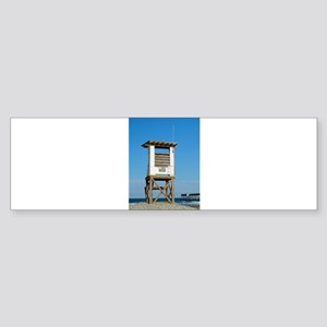 Lifeguard Stand Bumper Sticker