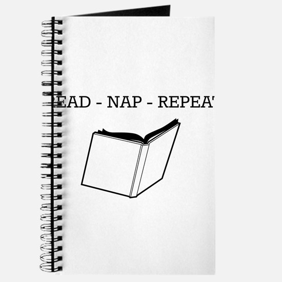 Read, nap, repeat Journal