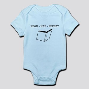 Read, nap, repeat Body Suit